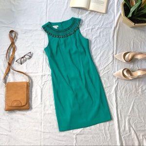 Kim Rogers Petit Sleeveless Dress Jewel Neckline